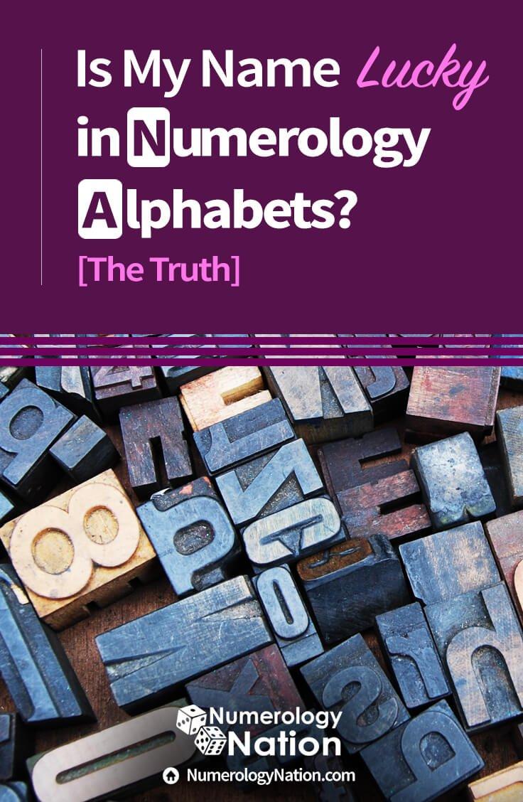 Numerology Alphabet