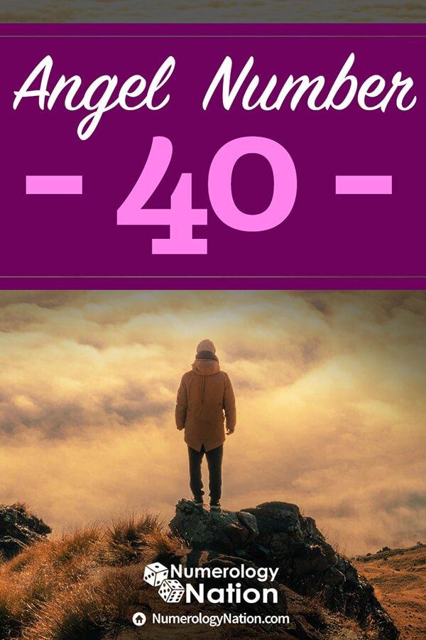 angel number 40