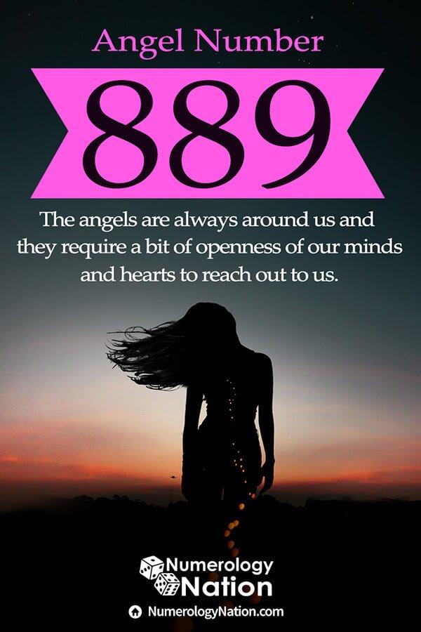 angel number 889