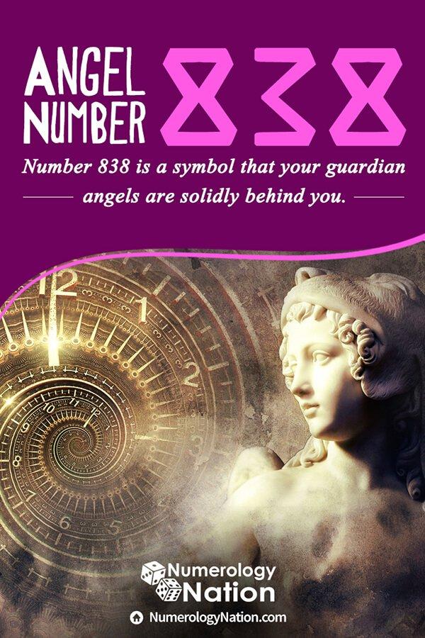 angel number 838